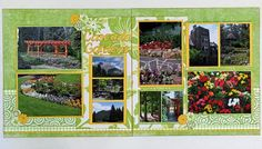Personal Scrapbook - 972-351-8717 - 410 N Greenville Ave, suite 116, Allen, TX 75002: Cascade Gardens 2-Page Layout Kit