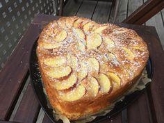 Pfirsichkuchen mit Buttermilch #ichbacksmir #rührkuchen