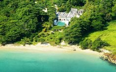 Roaring Pavilion, Jamaica is a spectacular luxury beach-front villa from Firefly Collection Ocho Rios, Jamaica Island, Jamaica Jamaica, Luxury Villa Rentals, Secluded Beach, Paradise On Earth, Best Vacations, Luxury Travel, Pavilion
