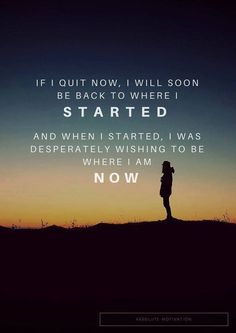[image] Don't Quit Now!