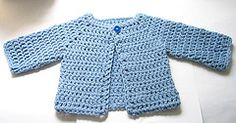 Ravelry: Crocheted Baby Sweater pattern by Beth Koskie