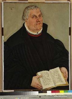 Cranach d. J., Lucas : Bildnis Martin Luthers
