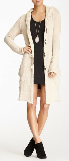 Carla Toggle Button Coat