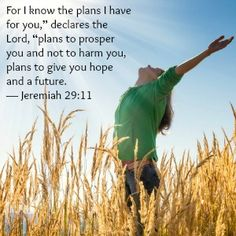 Plans to Give You Hope and a Future - FaithGateway