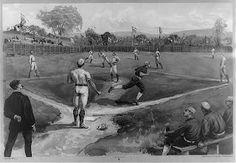 Old Time Baseball Game