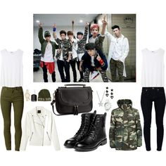 BTS Fancafe Picture Inspired Outfit