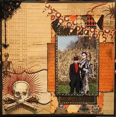 """Halloween 2012 """" Day of the Dead"""" - Scrapbook.com"""