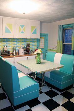 retro kitchens | Retro kitchen