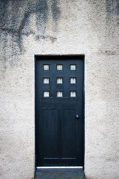 Charles Rennie Mackintosh designed door.