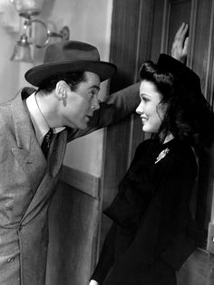 Henry Fonda and Gene Tierney in Rings on Her Fingers 1942 Old Movie Stars, Classic Movie Stars, Love Movie, Classic Movies, Golden Age Of Hollywood, Vintage Hollywood, Classic Hollywood, Hollywood Glamour, Gene Tierney