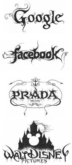 Heavy Metal Logos on LogoLounge