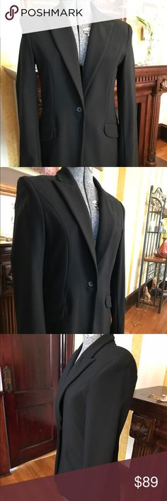 BVLGARI BLACK BLAZER SIZE MEDIUM Super slick BVLGARI black blazer! Stretch cotton size Medium. Comfortable fit. Great for work or a night out on the town. BVLGARI  Jackets & Coats Blazers