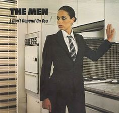 I Don& Depend On You cover front Depend On You, Virgin Records, How To Play Drums, Lp Cover, Post Punk, Kinds Of Music, Vinyl Records, Suit Jacket, Singer