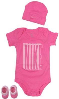 Nike Baby Clothing Set with Big Nike Bold Logo for baby boys and girls Pink, - Mode pour enfants Baby Girl Fashion, Toddler Fashion, Kids Fashion, Baby Girl Nike, Baby Girl Shoes, Pink Girl, Boy Or Girl, Divas, Bold Logo