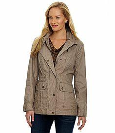 MICHAEL Michael Kors Hooded Anorak Coat #Dillards