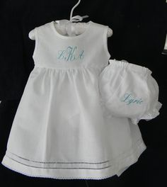 Toddler Girl Summer Dress White Linen by ClassicStitchesSTL, $45.00