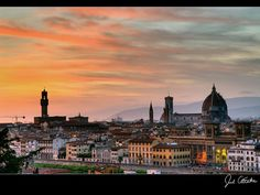 Florence, Italy at night~ One of the worlds most beautiful Cities~  One Visit is not enough~