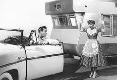 """""""The Long, Long Trailer"""" starring Lucile Ball and Desi Arnaz (1953)"""
