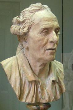Jean-Baptiste Pigalle : Autoportrait