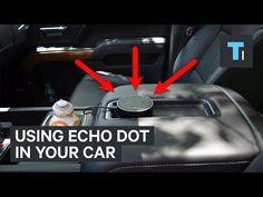 How to Install Echo Dot in Your Car (Plus Echo Auto) Dot Hack, Alexa Commands, Amazon Alexa Devices, Hands Free Phone, Alexa Echo, Alexa Voice, Home Automation, Amazon Echo, Amazing Cars