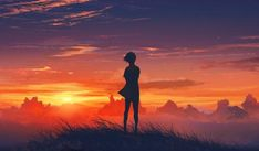 This HD wallpaper is about Everlasting Summer, Lena (character), anime girls, sunset, Original wallpaper dimensions is file size is Copyright Free, Beyond The Horizon, Sunset Wallpaper, Iphone Wallpaper, Latest Hd Wallpapers, Character Wallpaper, Original Wallpaper, Sky And Clouds, Background Pictures