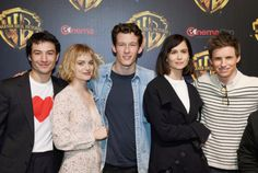 Eddie Redmayne and Callum Turner Photos Photos: CinemaCon 2018 - Warner Bros. Pictures Invites You To 'The Big Picture', an Exclusive Presentation Of Our Upcoming Slate Fantastic Beasts Movie, Fantastic Beasts And Where, Harry Potter, Callum Turner, Alison Sudol, Crimes Of Grindelwald, Eddie Redmayne, The Best Films, Romance