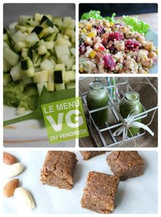 Le Menu VG du Vendredi : we're back ! Cheese, Vegan, Food, Eating Clean, Friday, Meal, Essen, Hoods, Meals