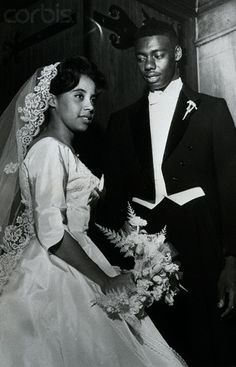 Oscar Robertson and New Bride.1960