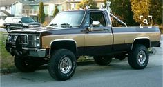 "1982 GMC K-2500  truck from the action/adventure tv show ""The Fall Guy""  Driven by Lee Majors.                                      1981-1986"