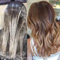 Caramel balayage highlights. Perfect fall colors! #balayage #balayagedenver #balayagedandpainted #denver #hair #highlights #caramelhighlights #brunette #modernsalon #behindthechair #americansalon...