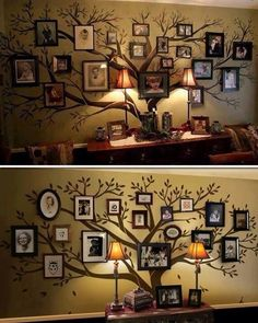 Family Tree Wall Decor #decor Pin by Ellesilk.com