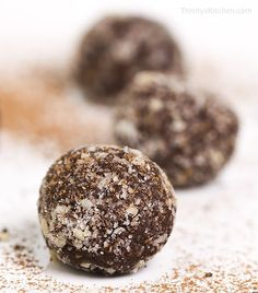 Raw Power Protein Balls by Trinity - gluten-free, vegan recipe