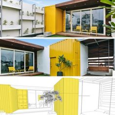 ROOFTOP SHIPPING CONTAINER Home STUDIO