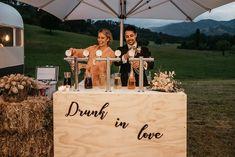 Drunk in Love - Wedding wine bar sign Candy Bar Wedding, Our Wedding, Wedding Venues, Dream Wedding, Wedding Bells, Wedding Ideas, Wedding Things, Rustic Wedding, Wedding Reception