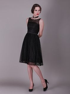 Peek-a-Boo Layered Lace Vintage Bridesmaid Dress | Plus and Petite sizes available! Hundreds of styles, tons of colors!