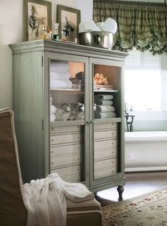 lovely bathroom armoire shabby chic rustic french country swedish decor idea