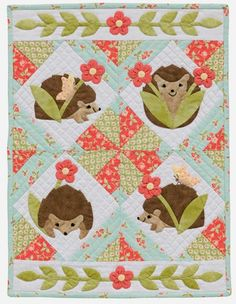 Fun-Size Quilts Blog Hop - Fat Quarter Shop's Jolly Jabber