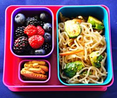 Jumping on the Bento Box Bandwagon. Toddler/Kid lunch idea.