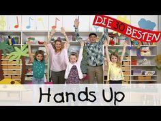 Hands Up - Singen, Tanzen und Bewegen || Kinderlieder - YouTube Preschool Songs, Music Activities, Zumba Kids, Party Songs, Wonder Boys, Love Your Smile, Paper Crafts For Kids, What Can I Do, My Way