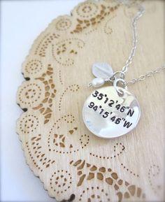 coordinates necklace