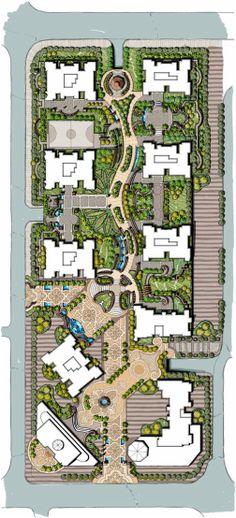 freehand landscape master plan landscapelayout