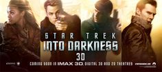 """New Awesome Cinemosaic poster for """"Star Trek Into Darkness"""" is here and stay tuned for the new trailer on Tuesday! Watch Explosive TV Spot here."""