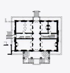 Ch 226 Teau D Harou 233 Elevation Architectural Plans And
