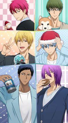 KnB Kuroko no Basuke Christmas ⛄⛄❄❄ Anime In, Kawaii Anime, Anime Manga, Anime Guys, Cute Anime Pics, Cute Anime Boy, I Love Anime, Anime Films, Anime Characters