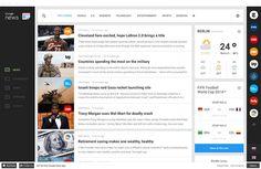 Webdesign : Concept de refonte de Google News