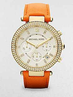 I could really use a new watch. Like this one:) Michael Kors in tangerine. Hey I missed Christmas in July, so how about we pretend it's still July:) hehe.