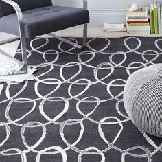 Scribble Loop Wool Rug