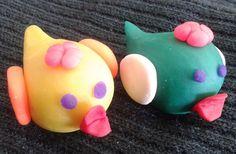 How to make birds using play dough
