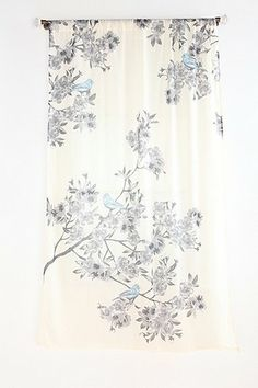 plum bow bird blossom curtain urban outfitters 3900 per panel