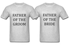Father of the bride shirt. Father of the groom shirt. Father of the bride gift. Father of the groom shirt. Father in law wedding gift.